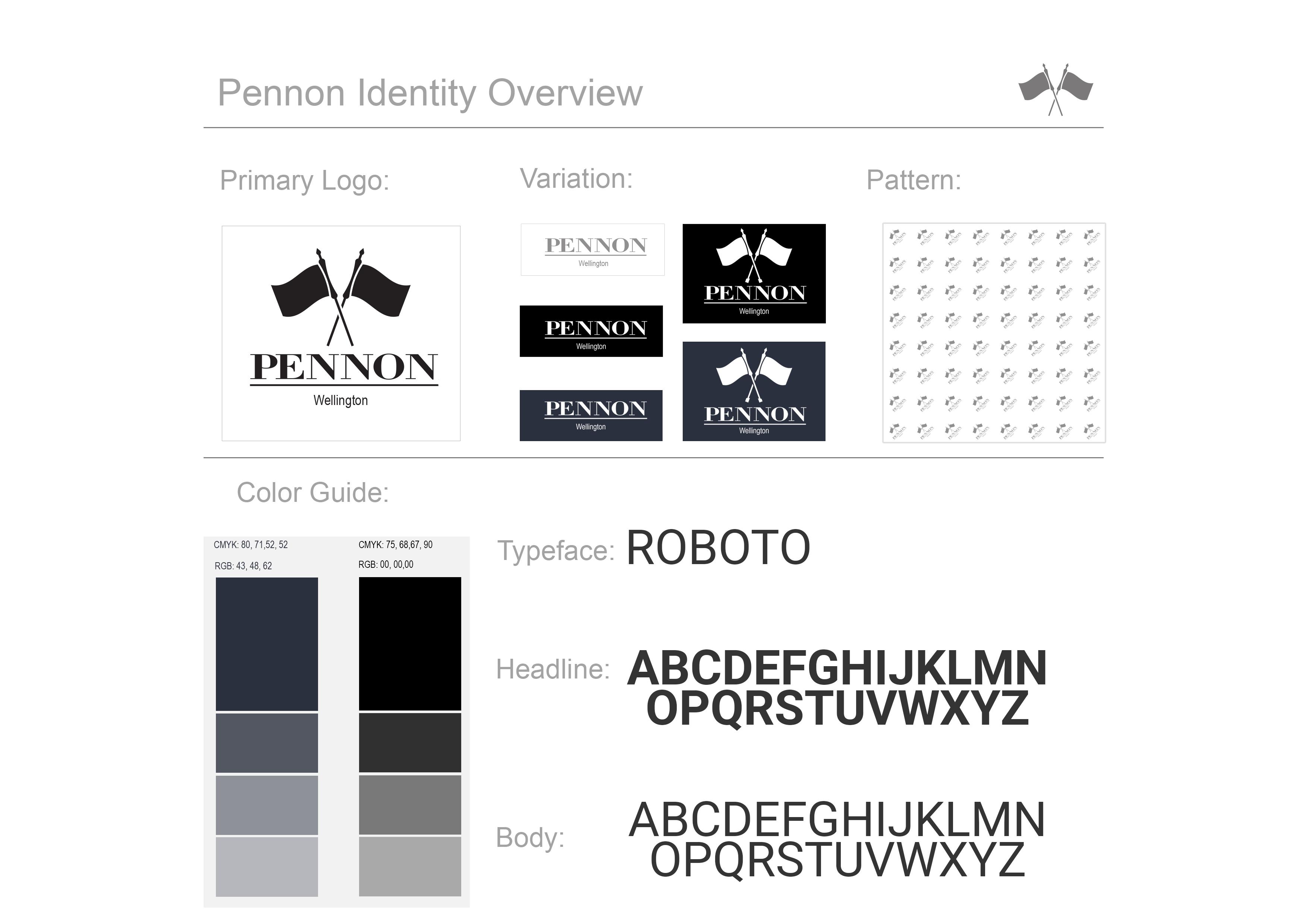 Pennon branding guideline