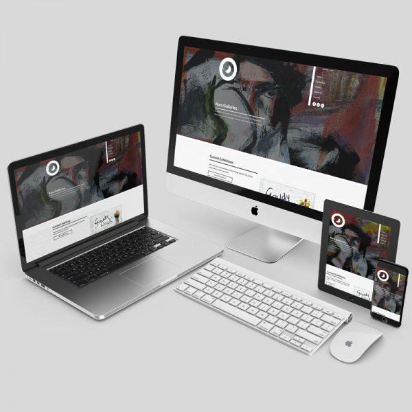 Responsive Web Design / User Portal