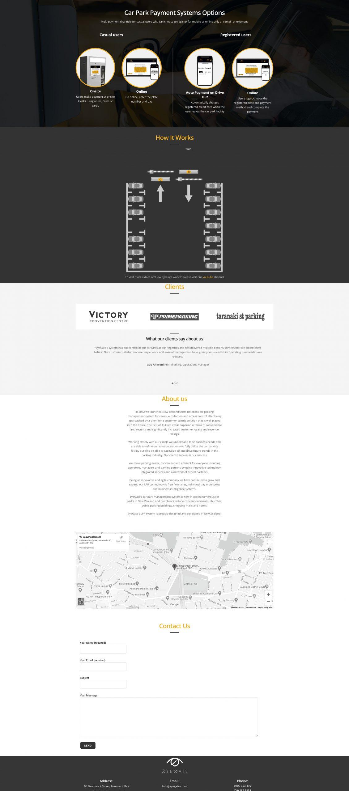 EyeGate Landing Page Part 3