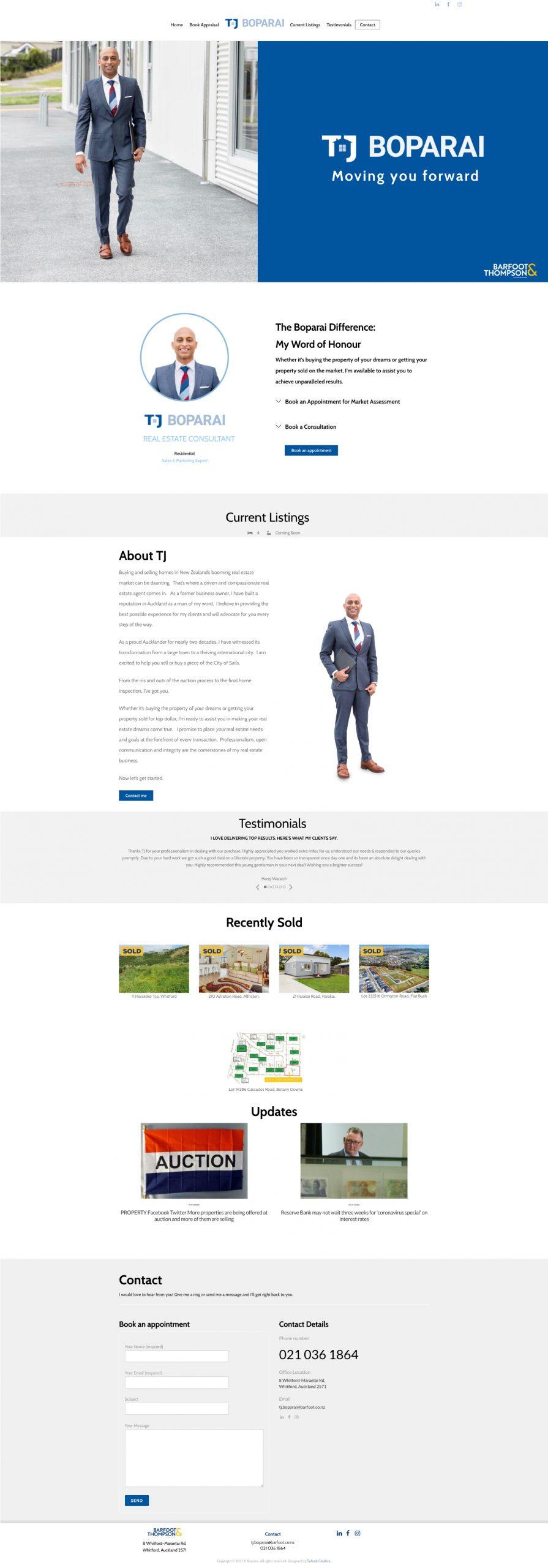 Tj Landing Page