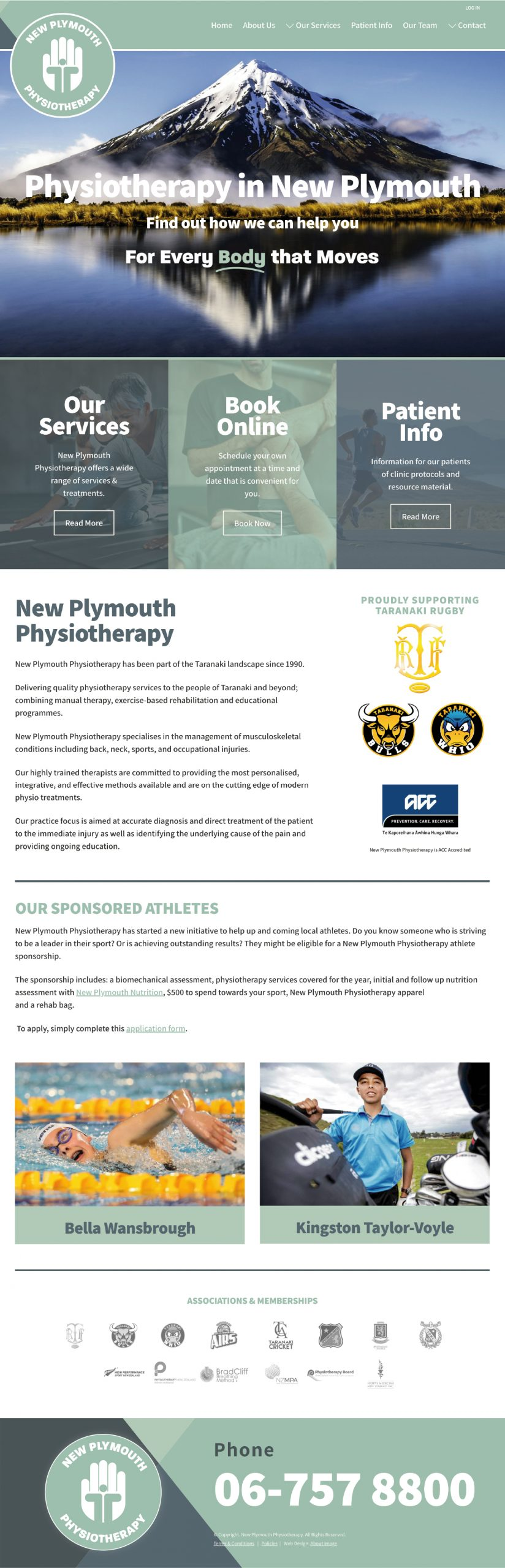 NP Physio Home Page